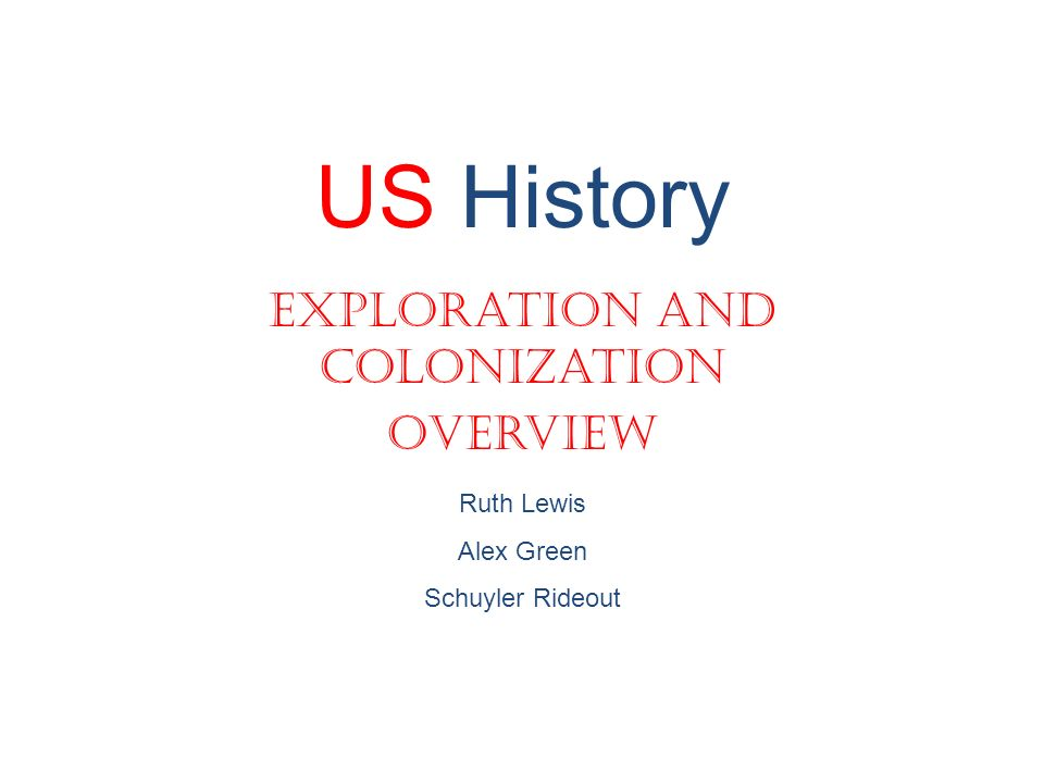american history exploration and colonization The gilder lehrman institute of american history donate  early european imperial colonization of the  using art to assess spanish exploration and colonization.