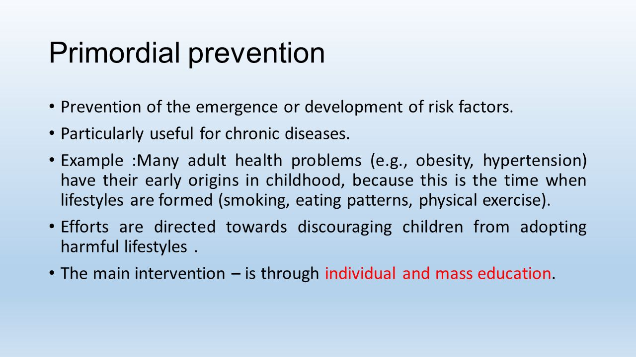 Prevention of lifestyle diseases ppt