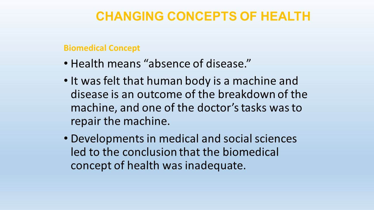 the ever changing concept of health essay Global warming effects essay - qualified writers working in the service will fulfil  your  definition climate change and custom global warming effects english, as a .