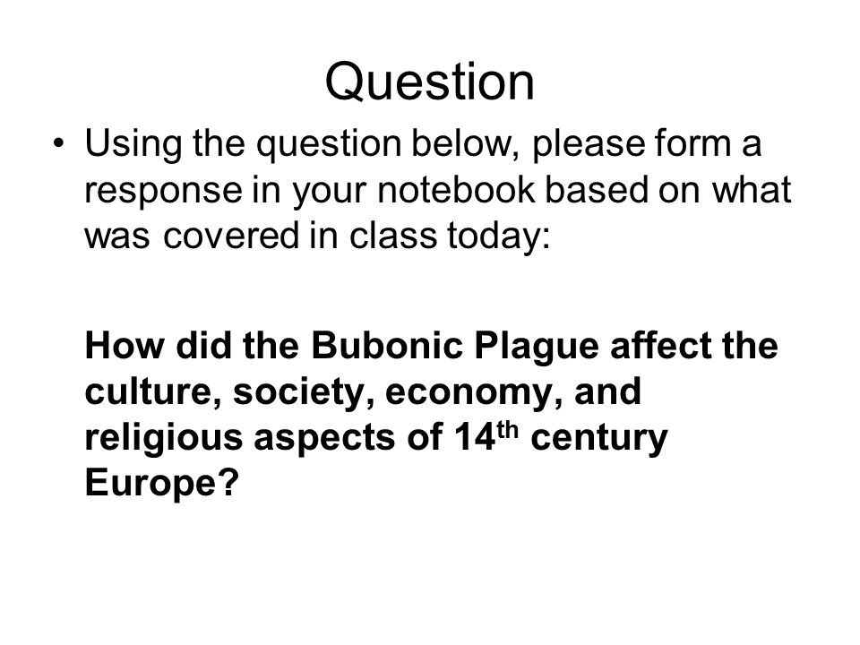 how the economy was affected by the bubonic plague An economic bubble is a financial phenomenon where the market price   another factor might've been the appearance of the bubonic plague.