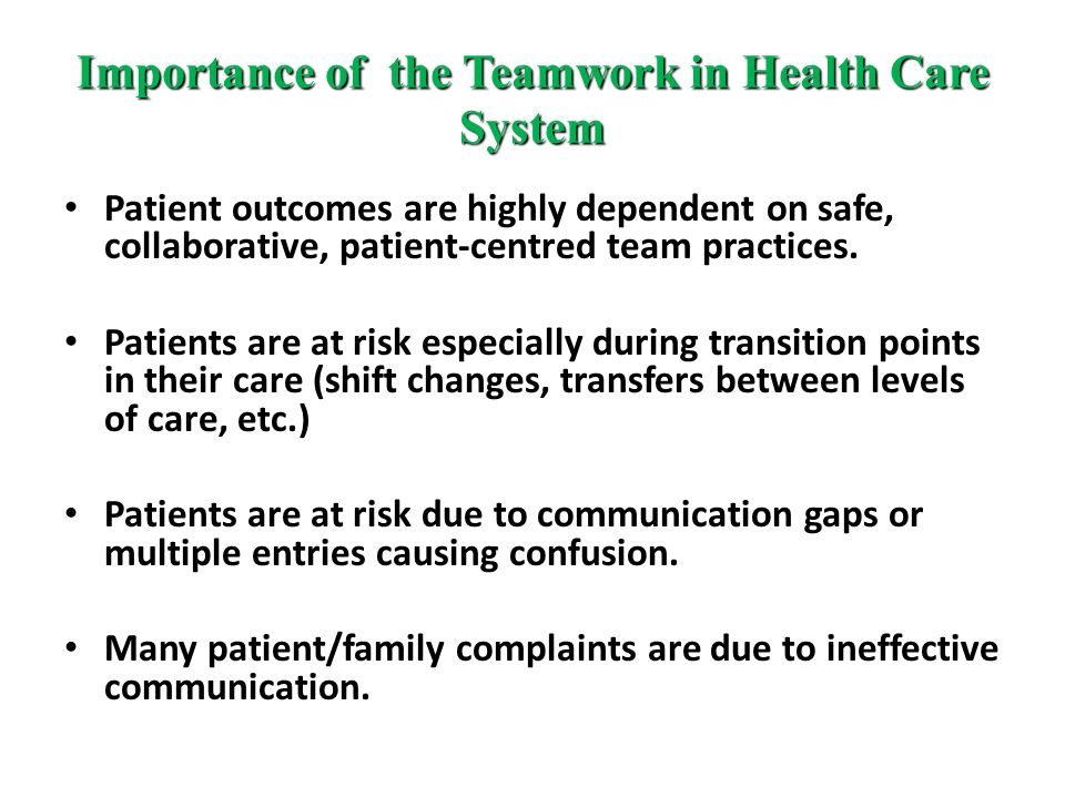 the role of communication in health care The role of language in health care access and utilization for  their health  coverage, and communicating with their health care providers.