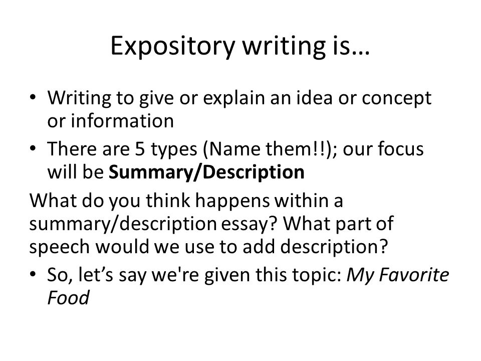 expository essay on games and sports Find helpful tips on how to write an a-grade expository essay following the guidelines learn more about the proper structure of this essay type.