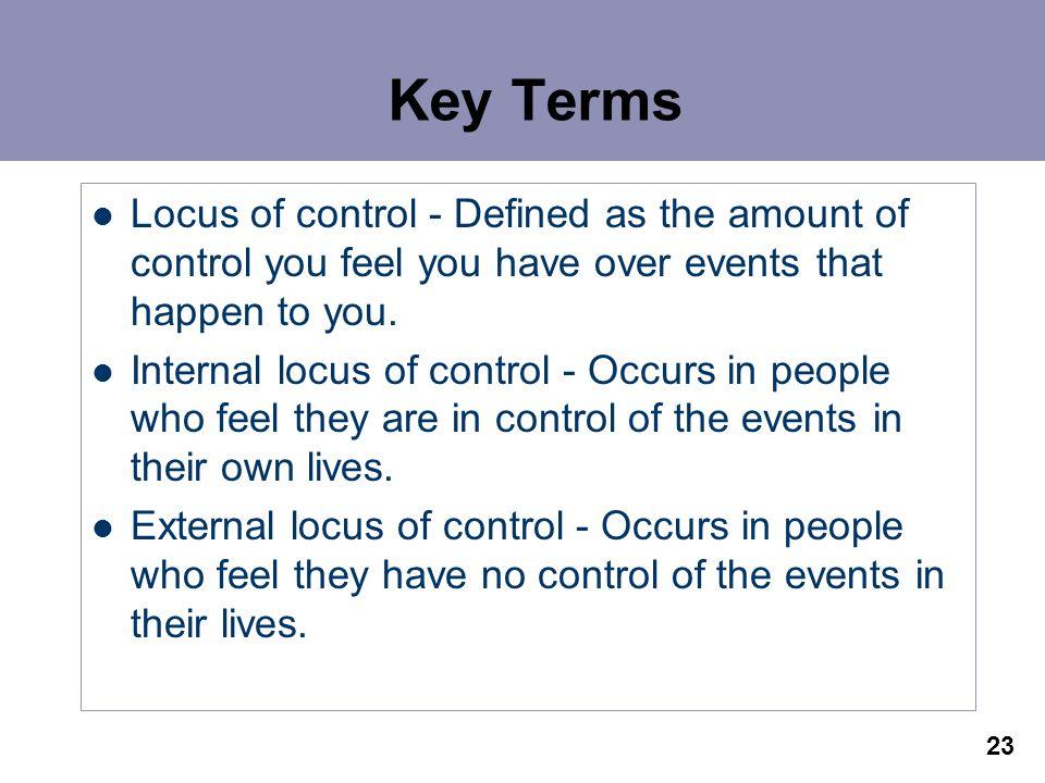 internal locus of control pdf