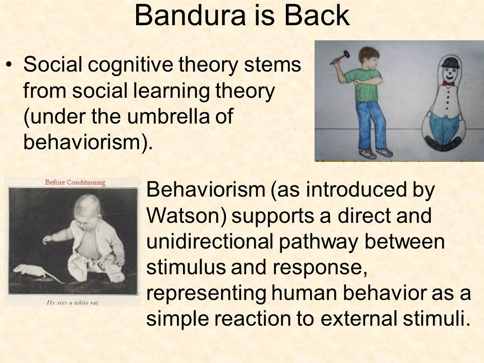 Freud and Bandura: A Critical Evaluation of Two Human ...