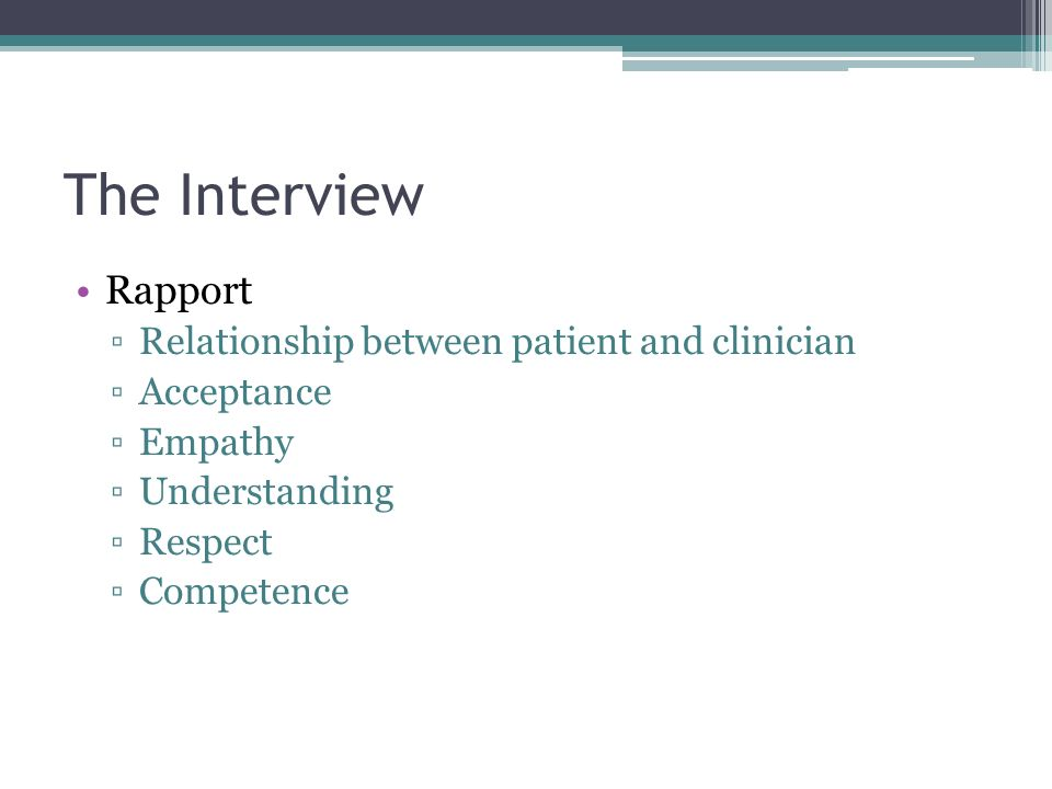 relationship between clinician and patient roles