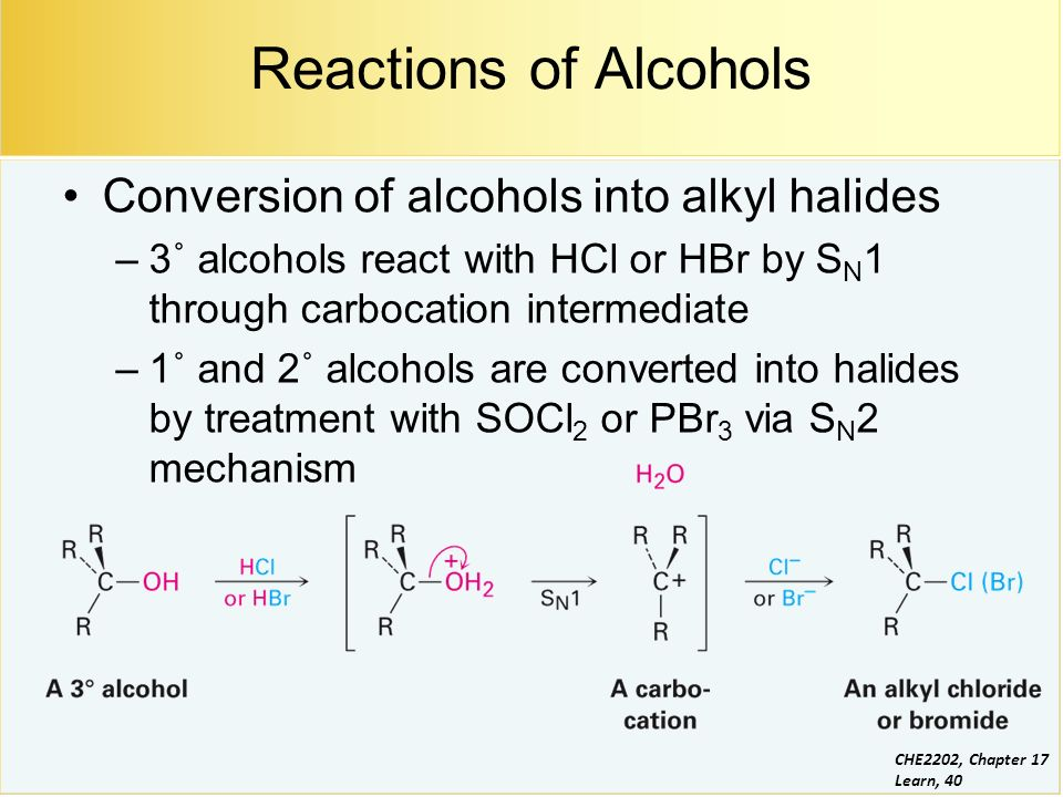 reactivities of some alkyl halides conclusion Reactions of alkyl halides there are some combinations of alkyl halides and nucleophiles and leads to the general conclusion that alkyl iodides are.