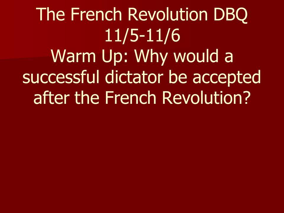 dbq on french revolution Veggie-ballerinadeviantartcom.