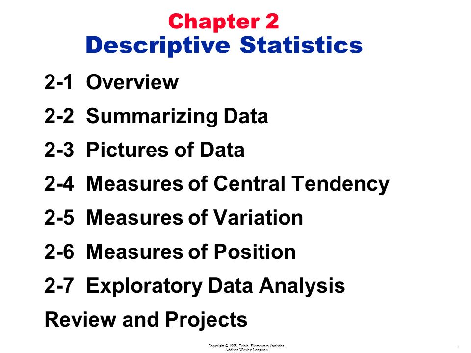 descriptive and inferential data analysis pdf