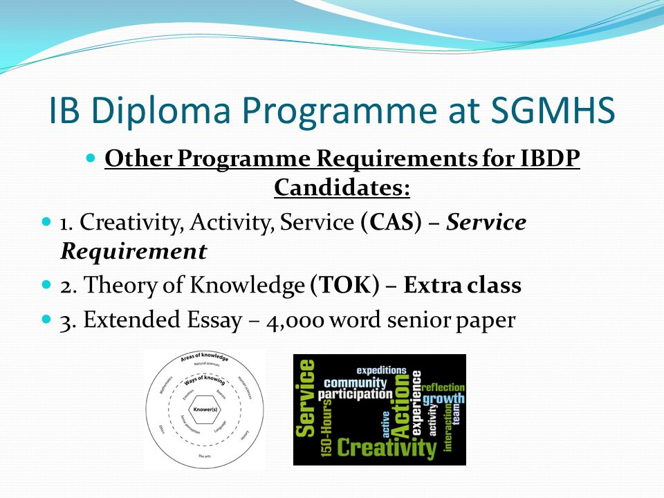 ib theory of knowledge essay criteria Ib-required assessments guidelines for the tok essay & presentation ib theory of knowledge the presentation criteria for assessment as a group to.