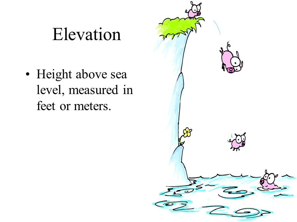Cartography Study Of Mapmaking Ppt Video Online Download - How to measure elevation above sea level