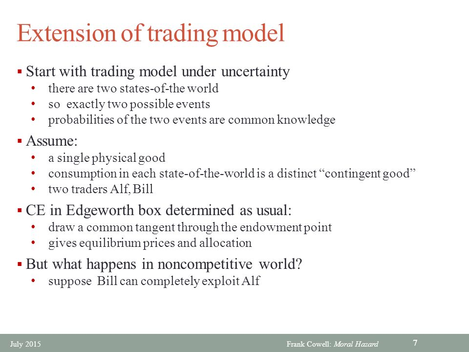 the two microeconomic principles of trading Why do these two firms work together to produce the iphone to understand the  economic logic behind international trade, you have to accept, as these firms do.