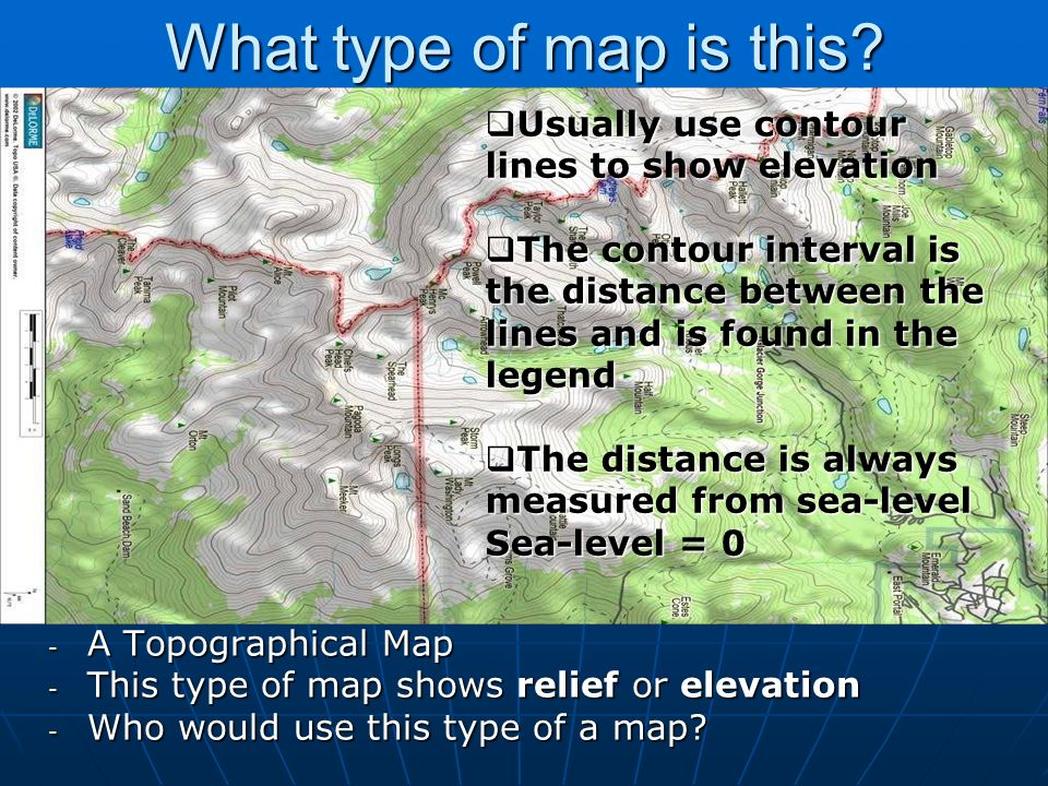 Sea Floor Elevation Map : Chapter maps help us make sense of the world ppt video