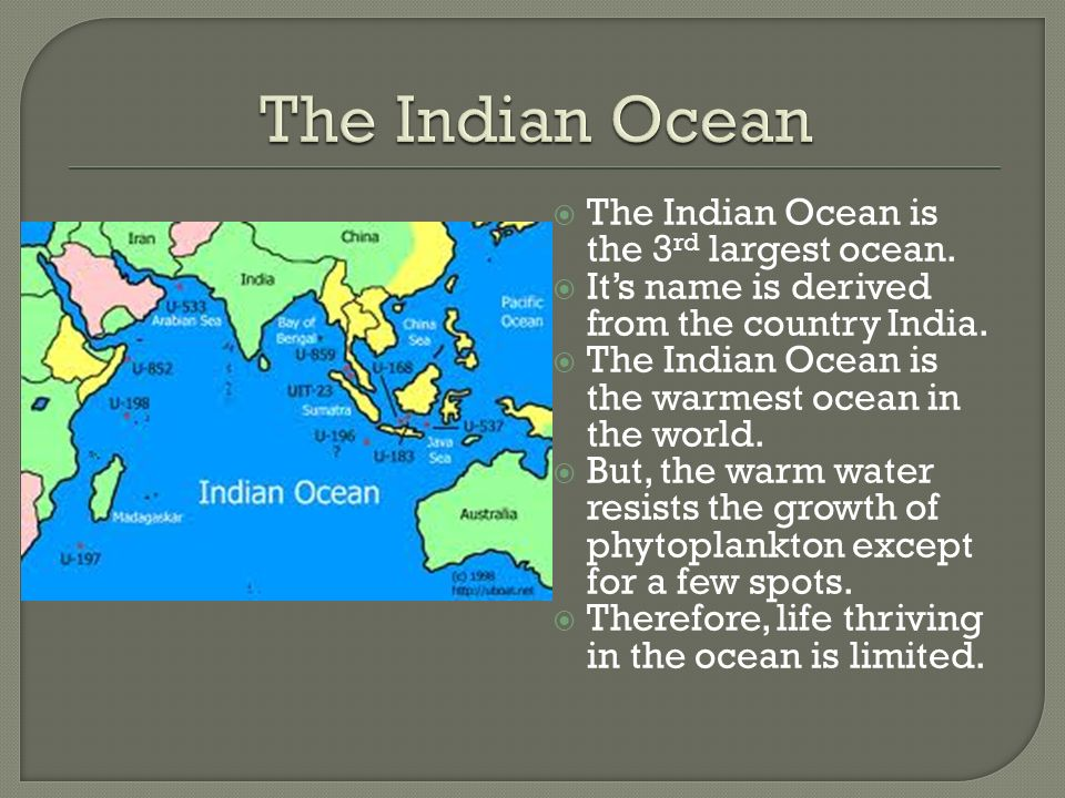 The Oceans Oceans Cover About Of The Earths Surface Ppt - Names of oceans on earth