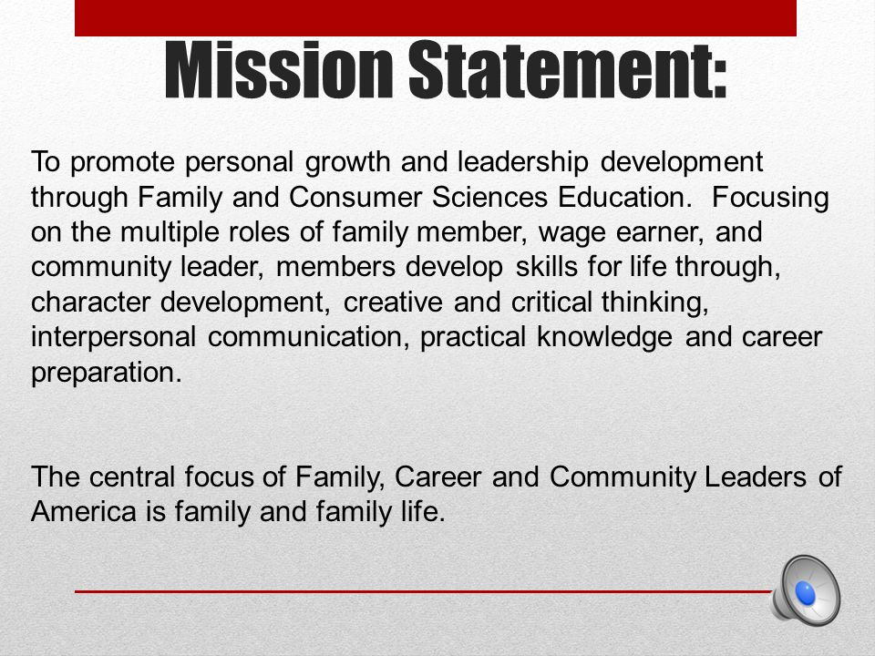 personal development statement examples