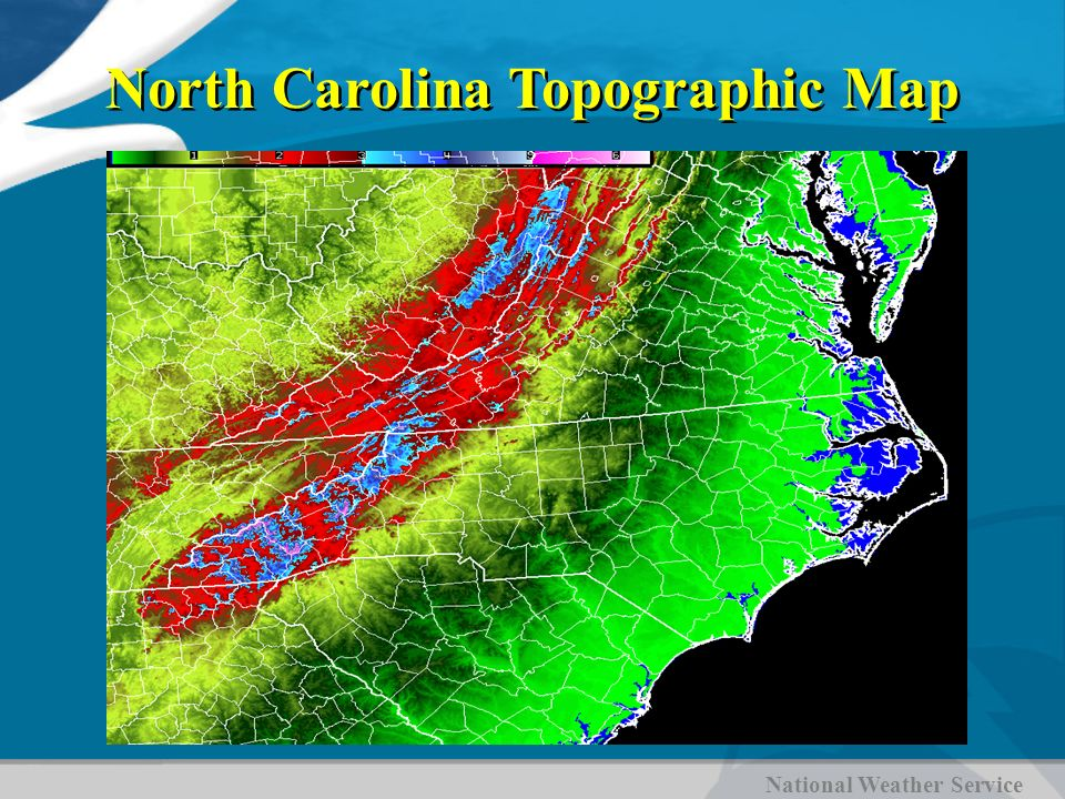 North Carolina Climate Ppt Video Online Download - North carolina topographic map