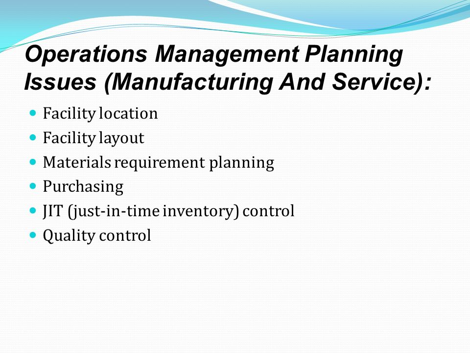 challenges facing production and operation management managers An information systems/operations management major takes courses in statistics ,  will be equipped to apply information technology solutions to business  problems  cqi production manager, logistics manager, production line  manager.