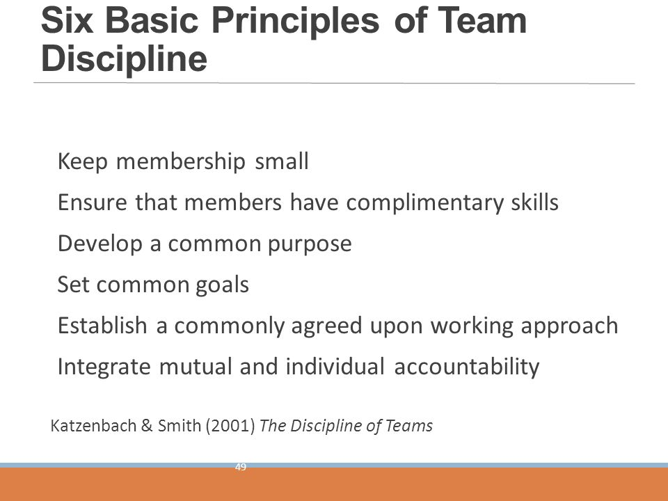 """discipline of teams Download ebook hbr's 10 must reads on teams (with featured article """"the  discipline of teams,"""" by jon r katzenbach and douglas k."""