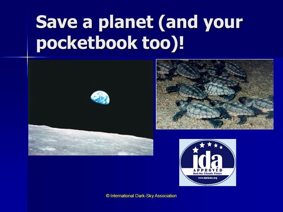 Save a planet (and your pocketbook too)!