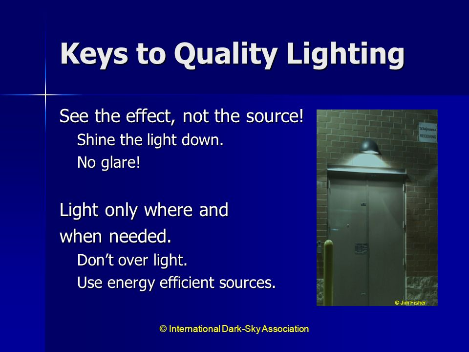 Keys to Quality Lighting