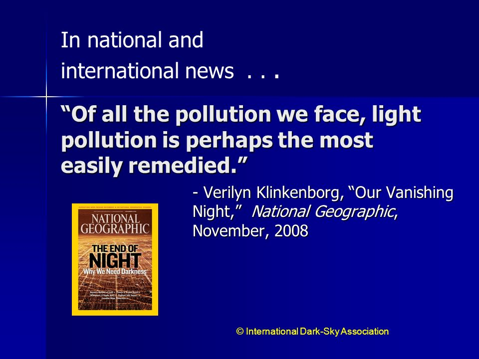In national and international news . . .