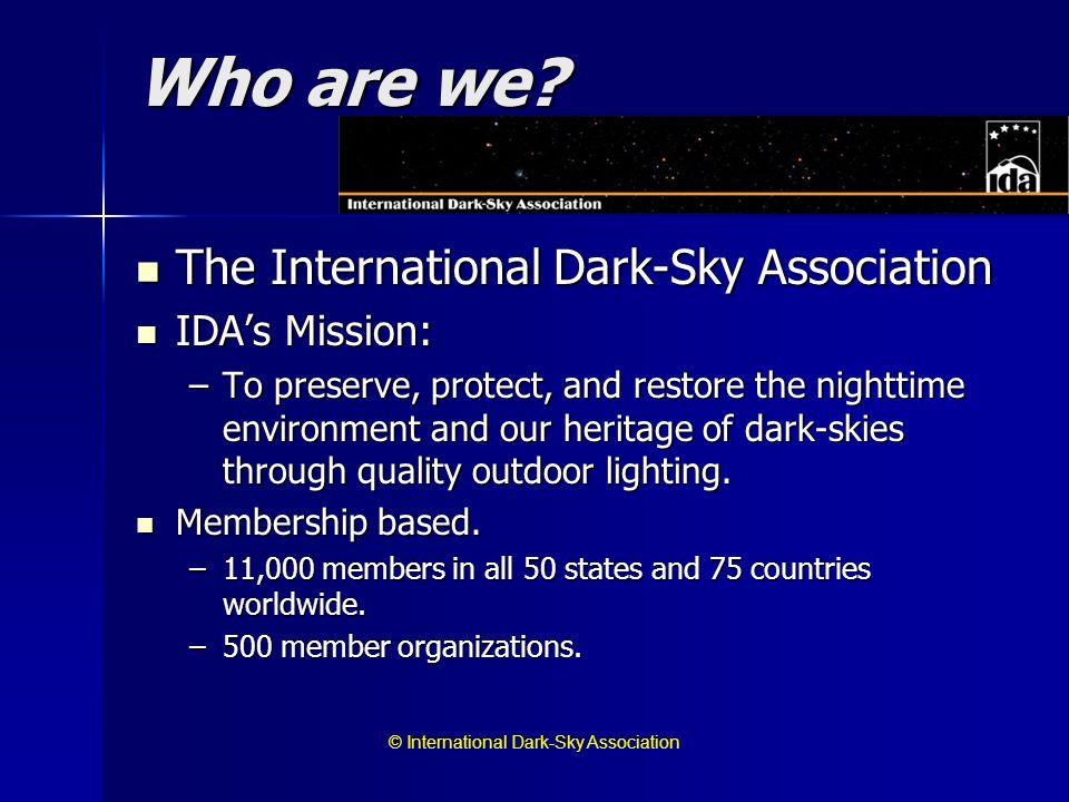 © International Dark-Sky Association