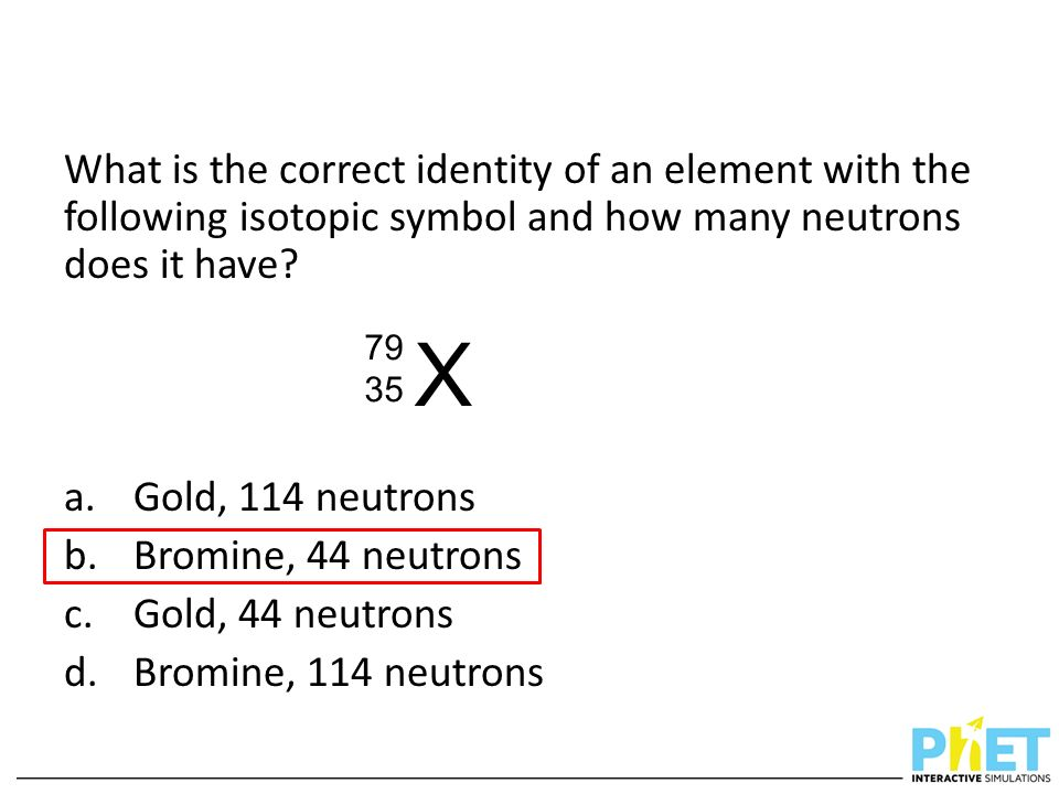 Clicker Questions For Build An Atom Ppt Download