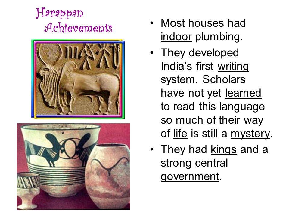 Harappan Achievements