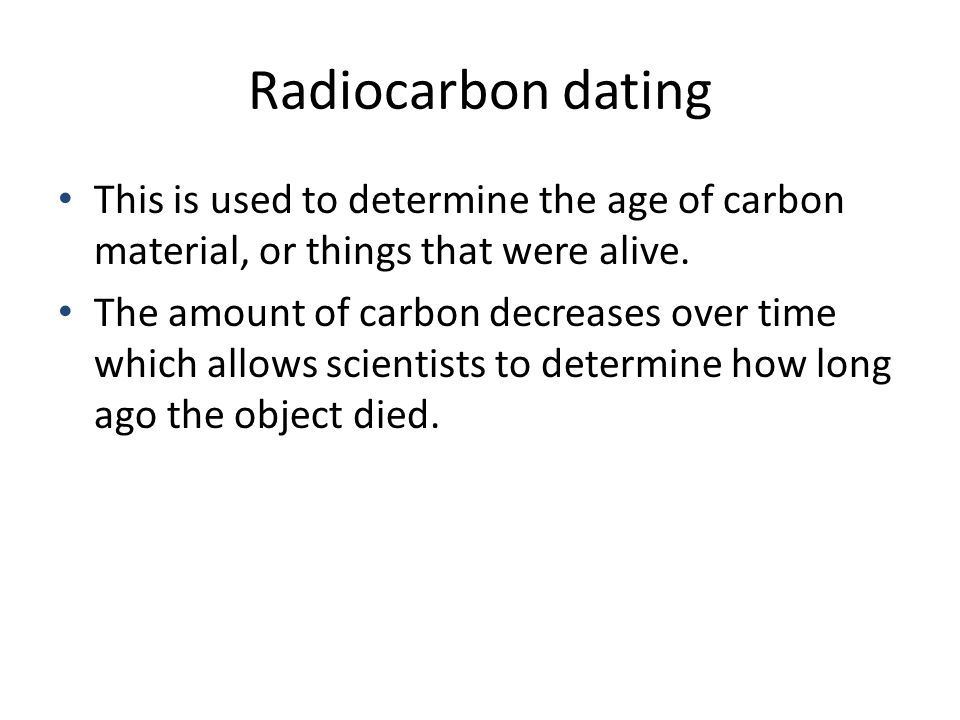 Best find Of What Dating Materials To Determine Age Type Can Be Radiocarbon Used Of The actually