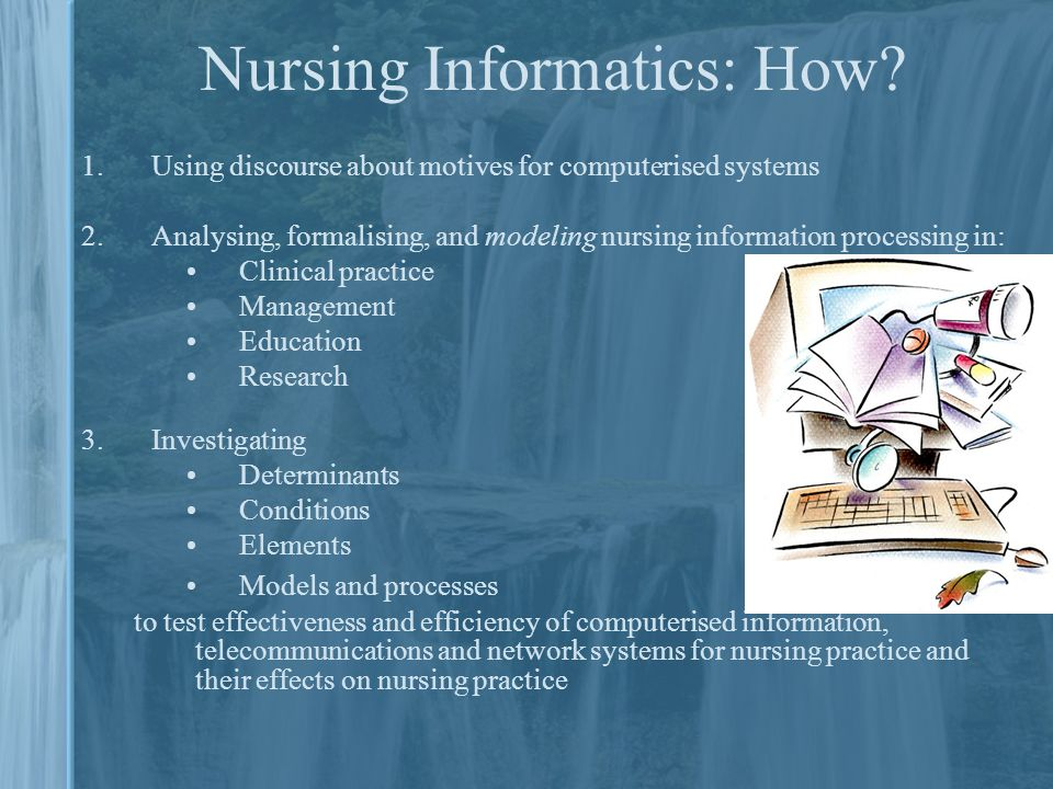 Nursing Information Systems Ppt Download