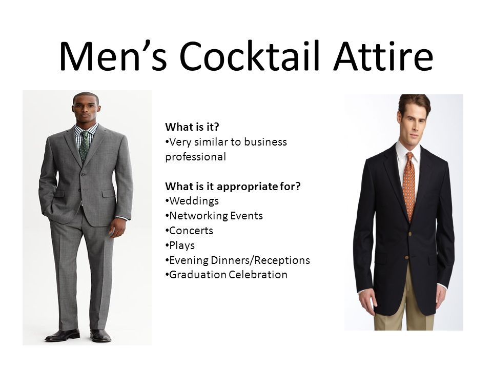 Appropriate Cocktail Attire For Men Pictures To Pin On