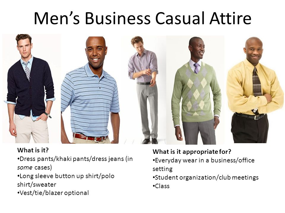 Professional Dress For Men Women For All Occasions Ppt Video