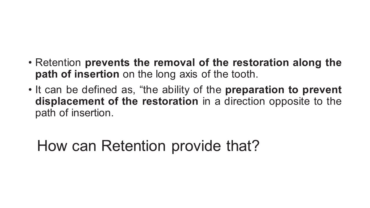 How can Retention provide that