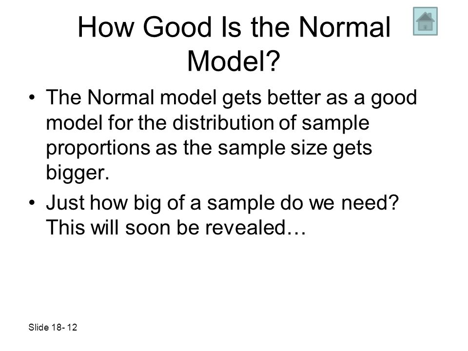 Understand that Sampling error is really sample variability - ppt ...