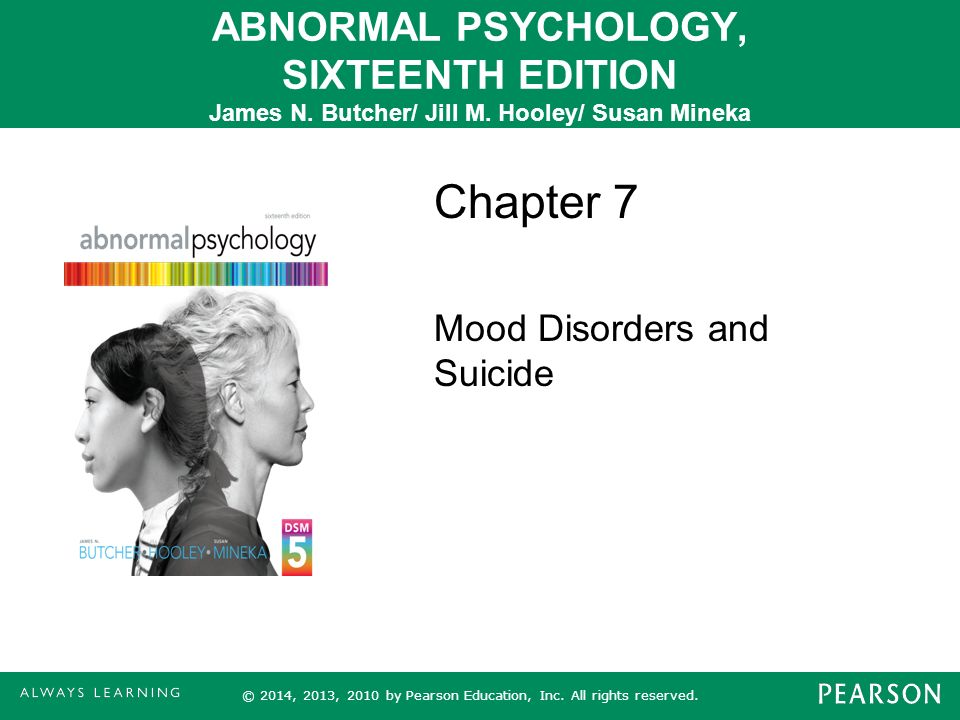 abnormal psychology mood disorders