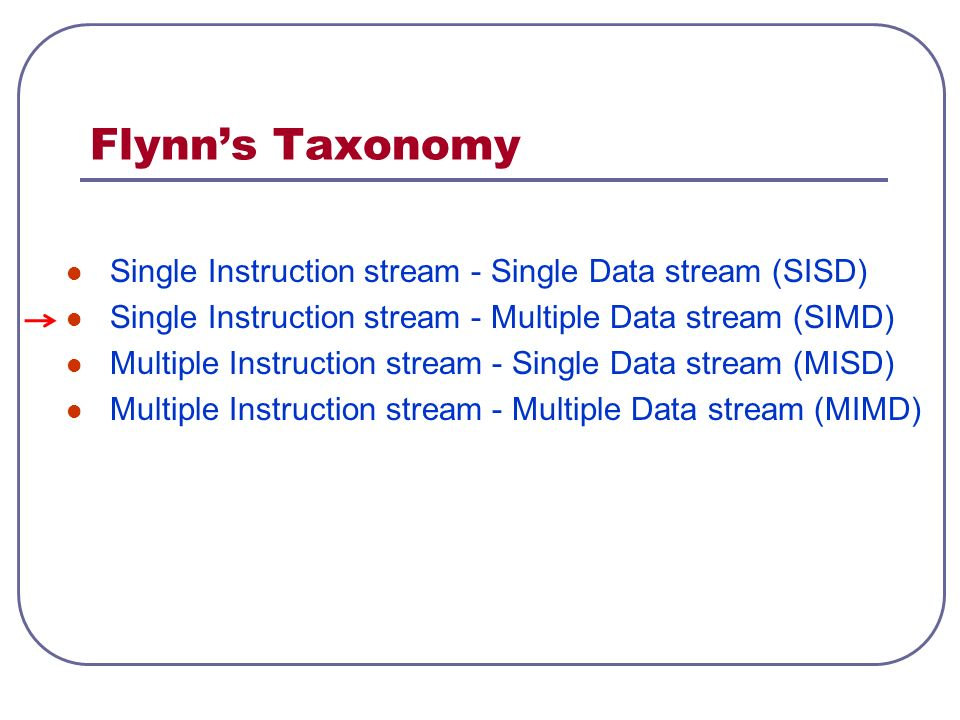 multiple instruction single data