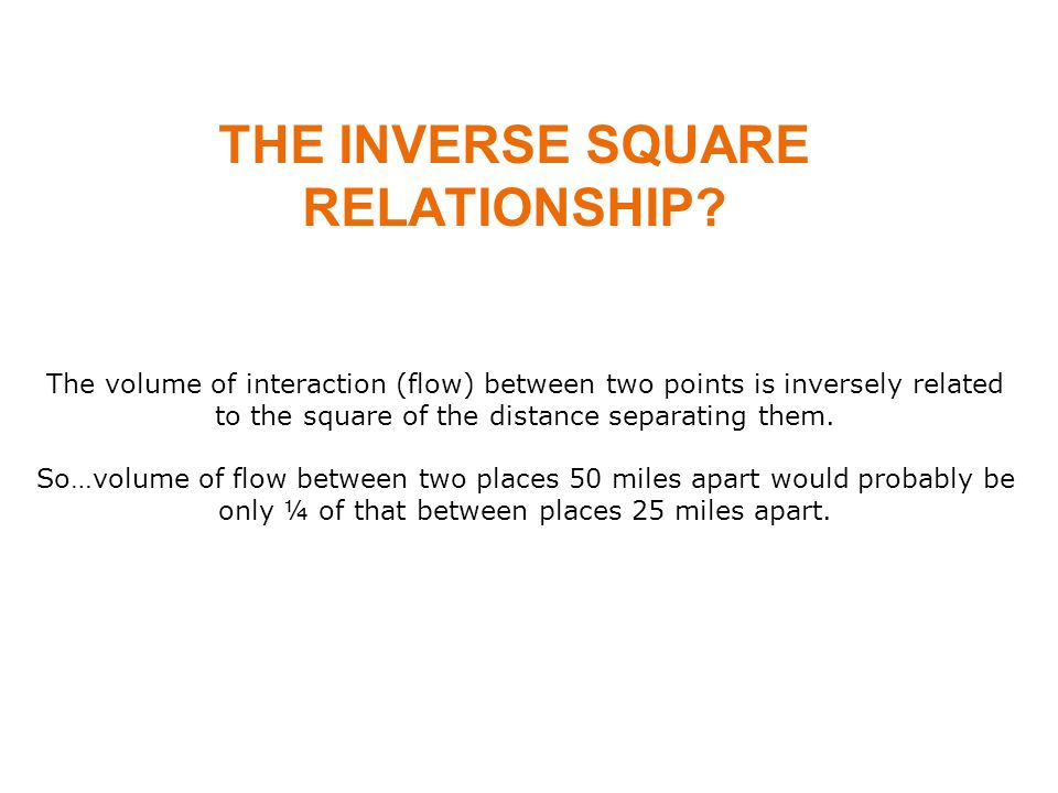 inverse square relationship definition physics period