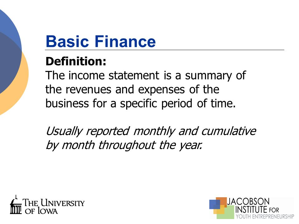 Charming Basic Finance Definition: