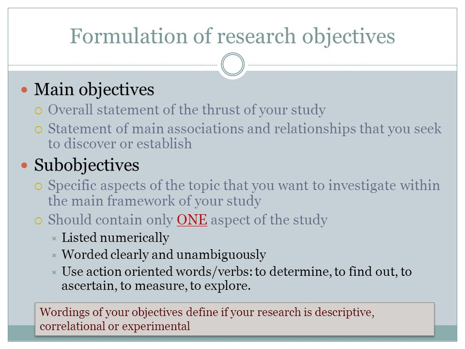 problem formulation research A research problem is the main organizing principle guiding the analysis of your paper william mk problem formulation research methods knowledge base 2006.