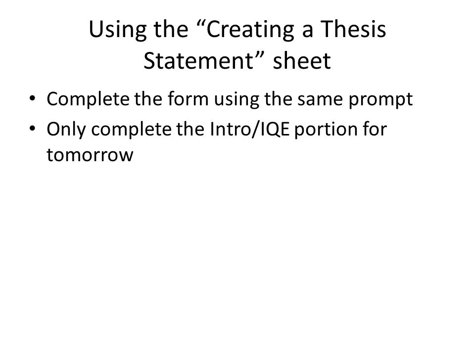 thesis statement about using computers Learn how to write an essay with this sample outline find examples, plus expert tips and links to additional resources for writing  add your thesis statement.