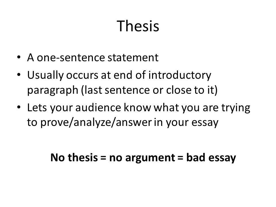 Good Thesis Statements For Book Reviews Thesis Statement Examples