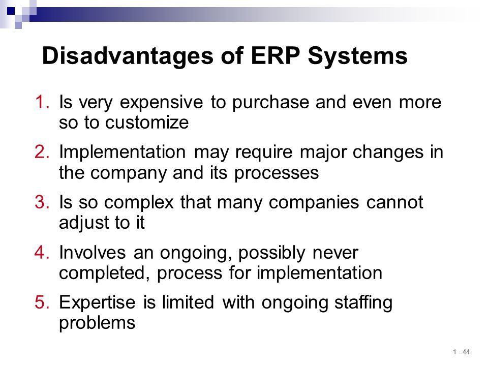 advantages disadvantages of mrp system This newer version is called manufacturing resource planning  of a given firm 4disadvantages of mrp i systems mrp i  to mrp advantage & disadvantage.