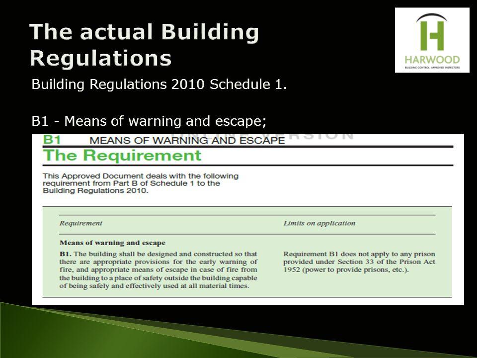 Building Regulations Design Life Whole Building