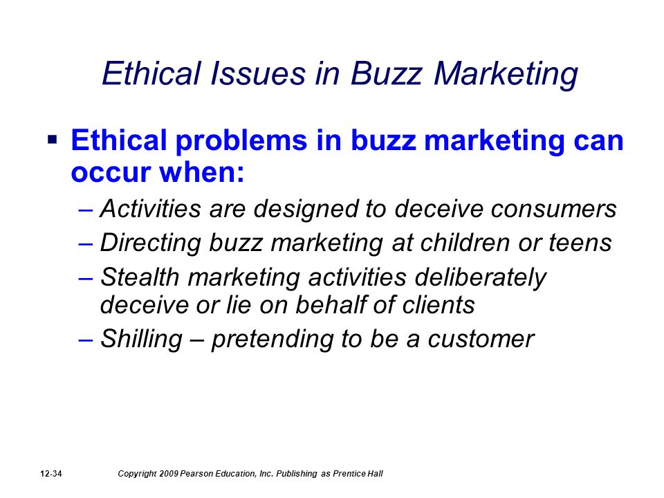 the moral issues of advertising and selling products to children Several product-related issues raise questions about ethics in marketing, most  often  new york: children's advertising review unit of the council of better.