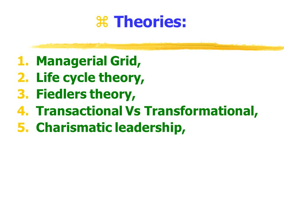 the concept of charismatic leadership theory Discover librarian-selected research resources on charismatic leadership from  theory of charismatic leadership  a concept and chap 2 charismatic.