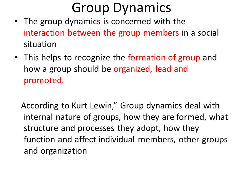 theories of group formation Though a number of theories have been propounded by various experts to explain the dynamics of group formation, the most important ones are discussed hereunder .
