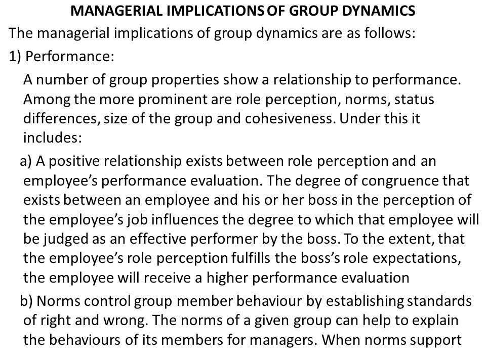 managerial implications of social perception Few managerial job descriptions cite social justice as a  of mental processes  that allow people to perceive and interpret information they.