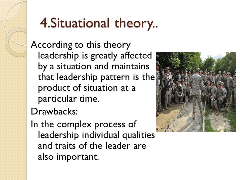 4.Situational theory..