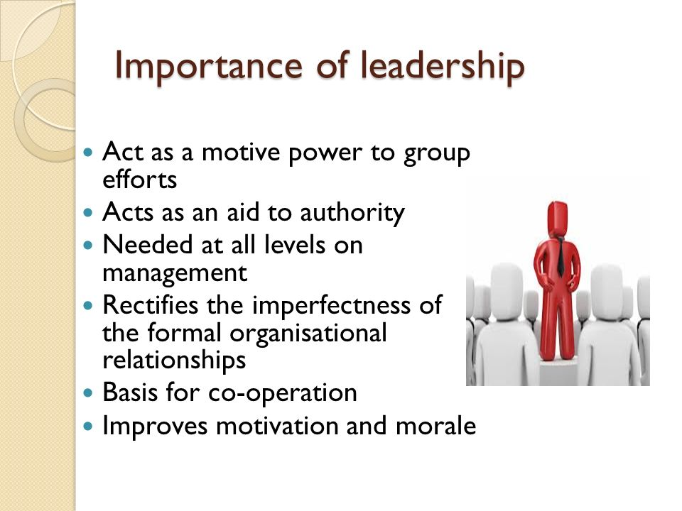 The Importance Of Leadership In Today's World