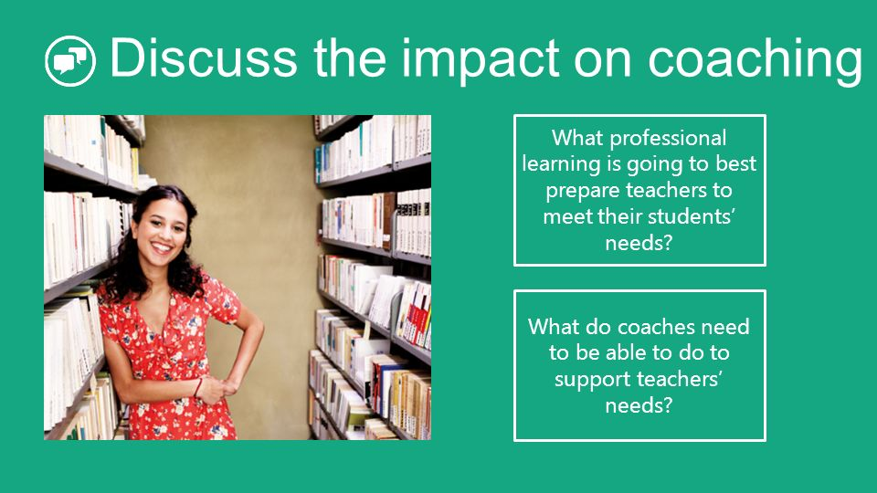 Discuss the impact on coaching