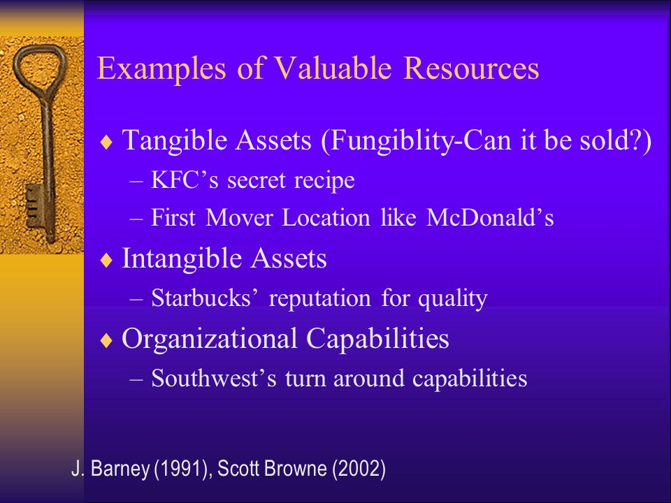 mcdonald s tangible intangible human capabilities The resources are tangible (financial and physical), intangible business analysis: microsoft's what are microsoft's main resources and capabilities which.